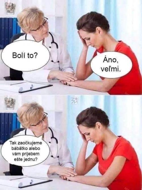 U dětské lékařky