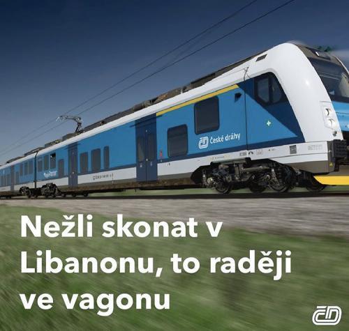 Nový slogan Českých drah