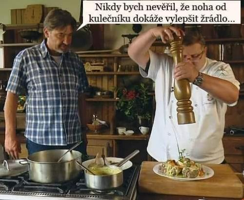 Babica opět vaří