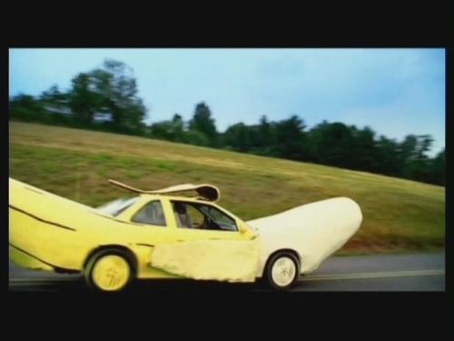 Banánové auto