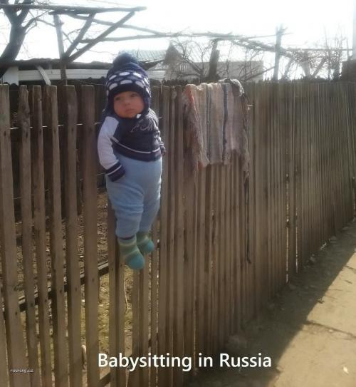 Babysitting in Russia