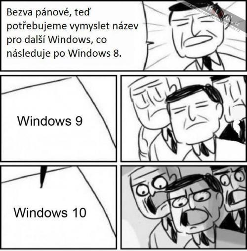Další Windows po Windows 8
