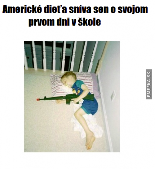Americký sen děti