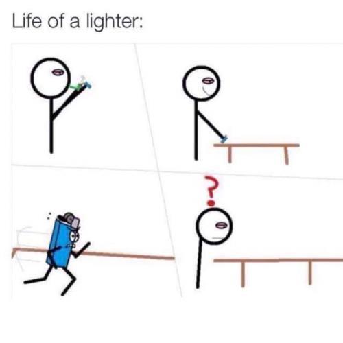 Život zapalovače