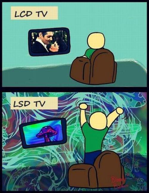 LCD TV a LSD TV?