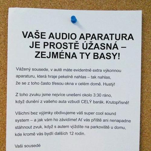 Audio aparatura