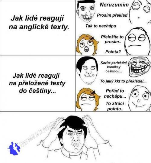 Anglické texty
