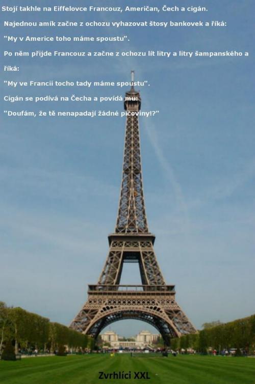 Francouz na Eiffelovce