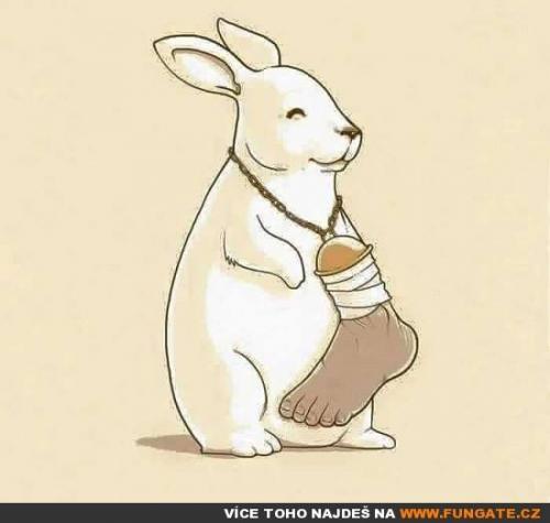 Pacička pro štěstí pro králíka