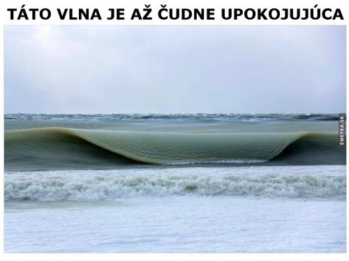 Uspokojující vlna