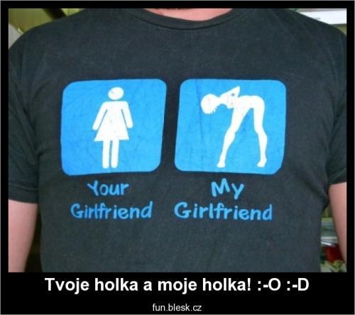 Tvoje holka a moje holka!