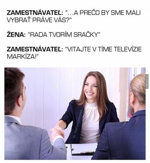 Zaměstnání