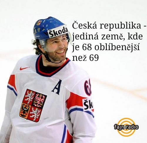 Česká republika raději 68