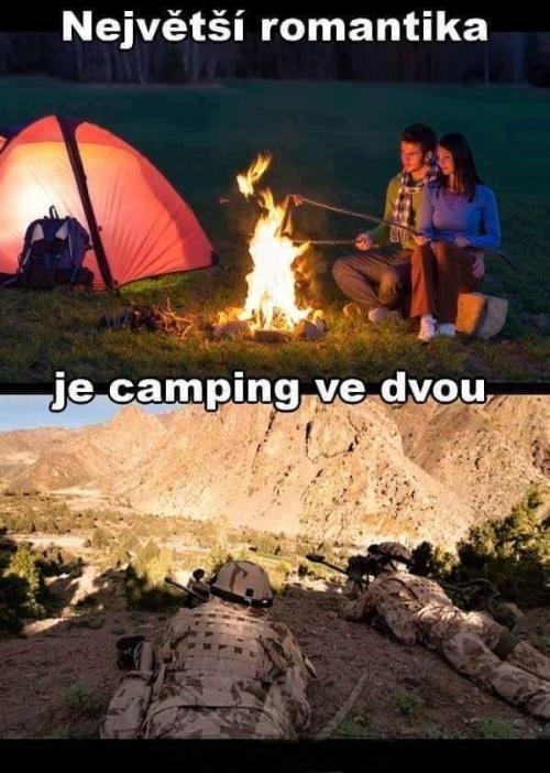 Camping ve dvou