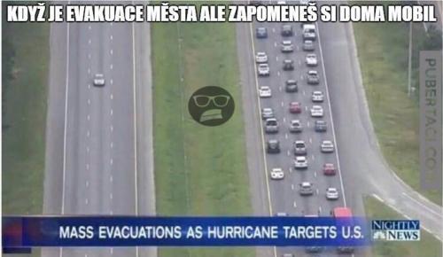 Evakuace města