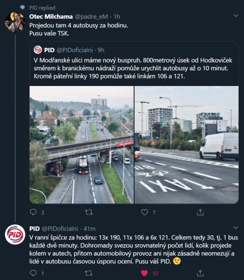 Když Tě utře dopravní podnik