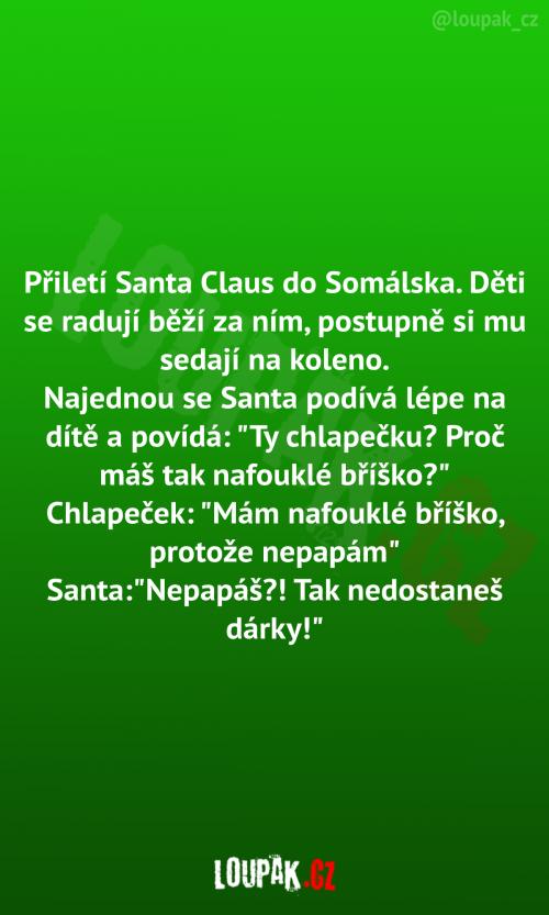 Santa Klaus v Somálsku