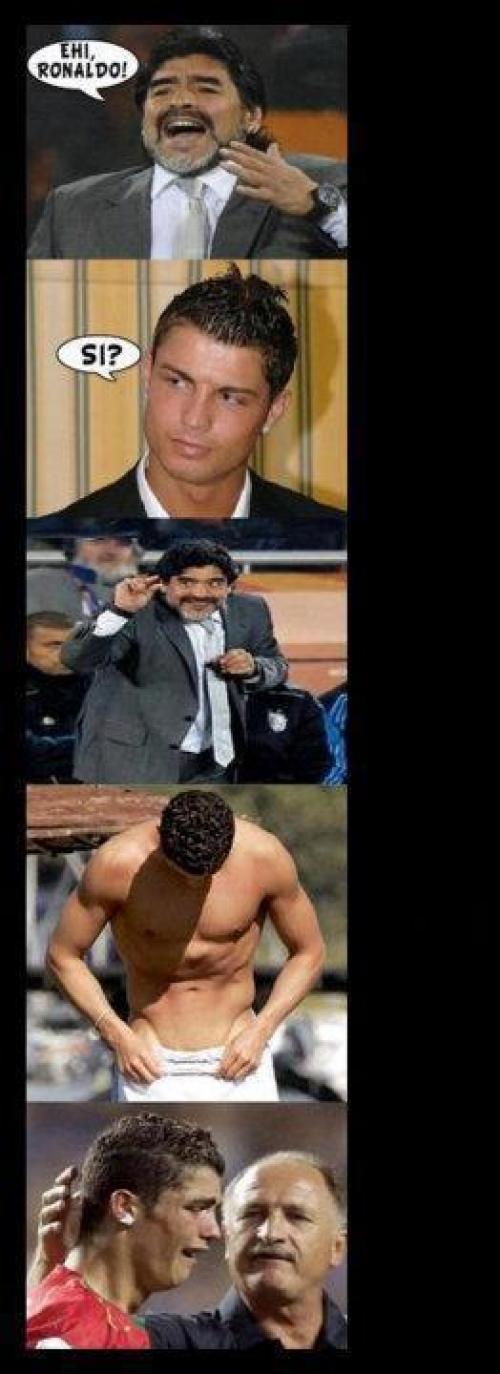 Hej Ronaldo!Si?