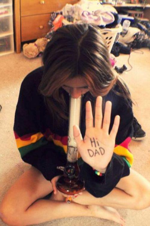 Hi Dad!