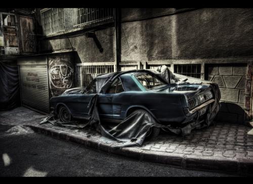 Automobily v HDR