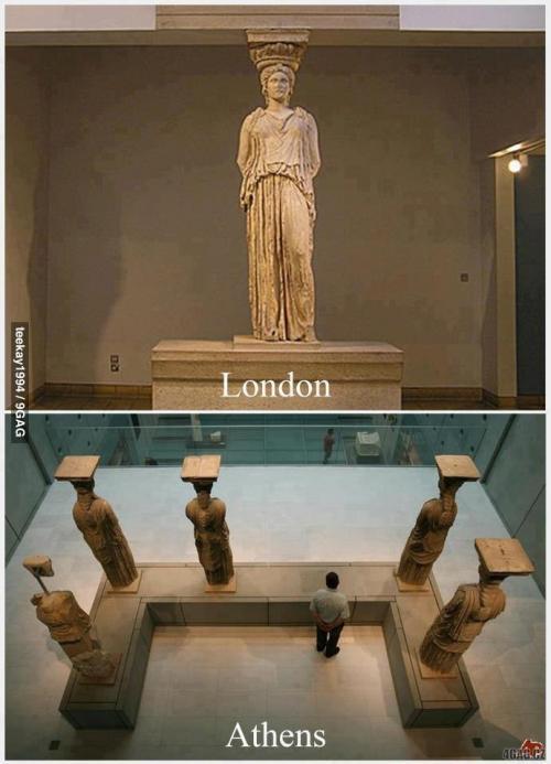 Londýn vs. Athény