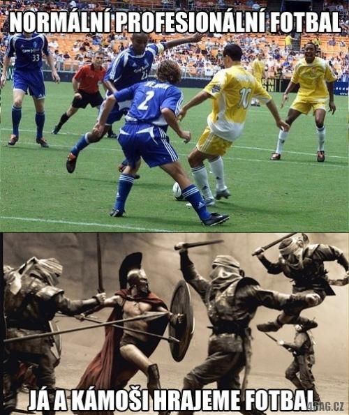 Není fotbal jako fotbal