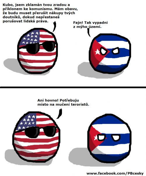 USA a Kuba