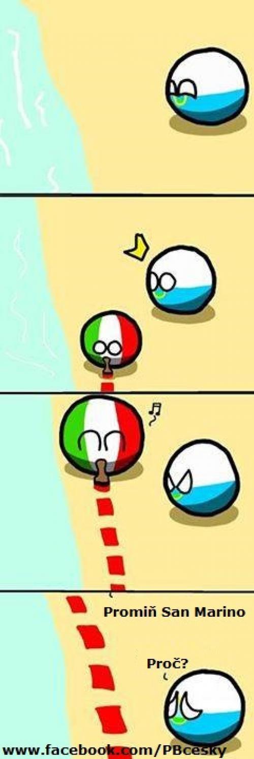 San Marino má pech