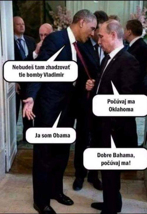 Obama a Putin