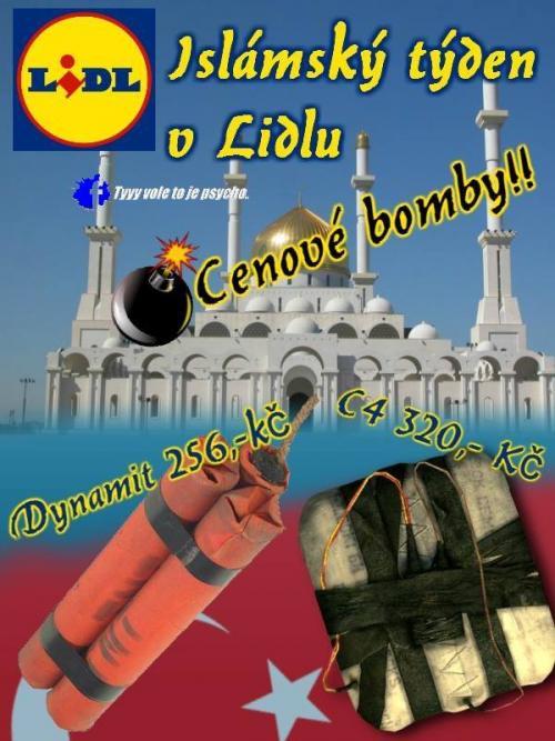 Islámský týden v Lidlu