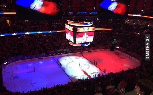 Noční zápas NHL Washingtonu Capitals