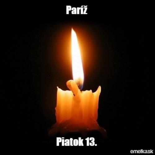 Pátek 13.11. Paříž
