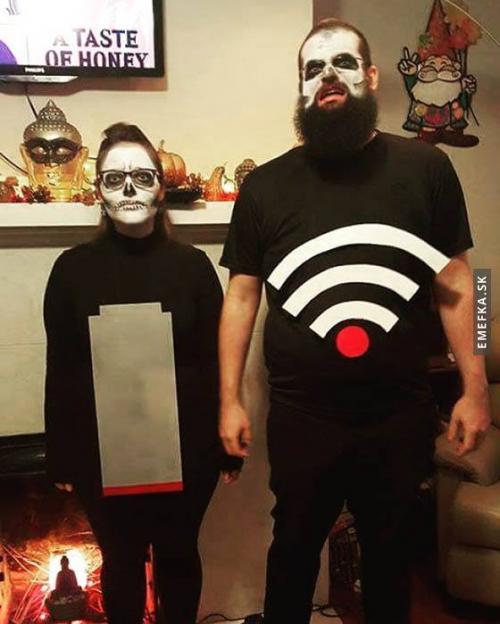 Nejděsivější kostýmy