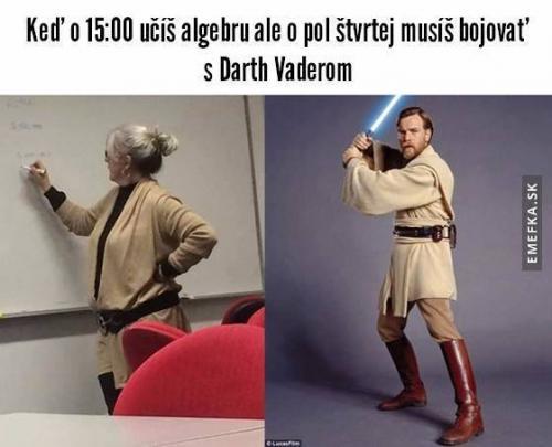 Algebra a Darth Vader