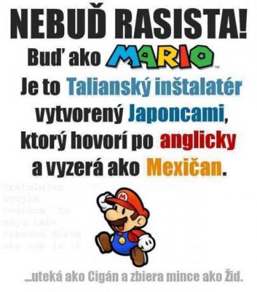 Buď jako Mario