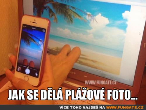 Jak se dělá plážové foto…
