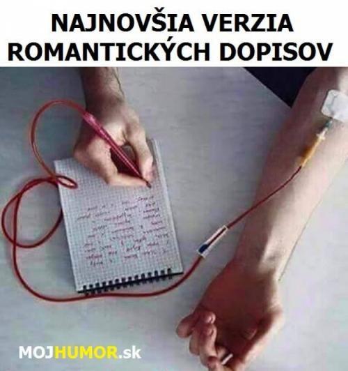 Romantické dopisy