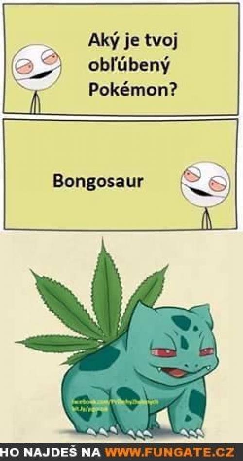 Jaký je tvůj oblíbený Pokémon