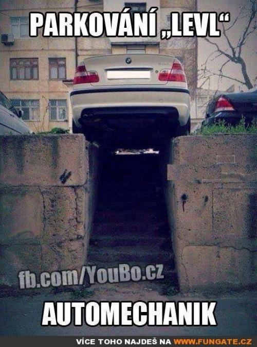 Parkování level automechanik