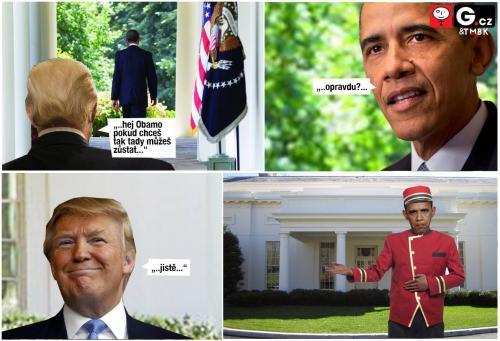 Obama zůstane v Bílém Domě