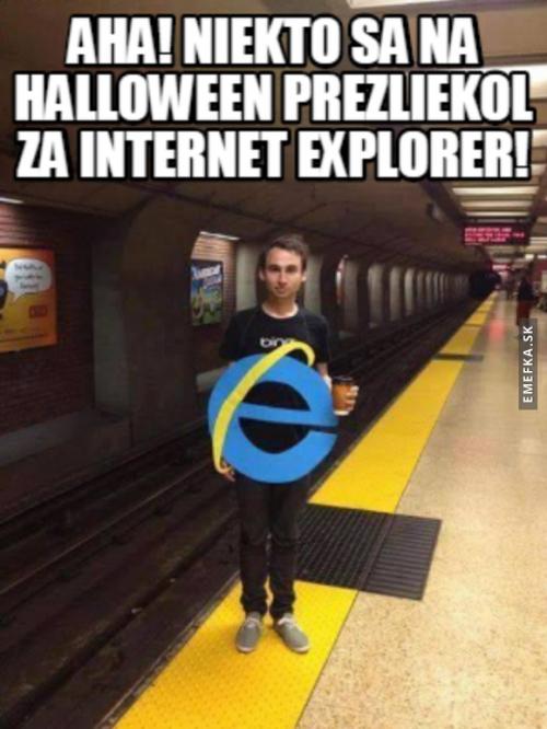 Převlek na Halloween
