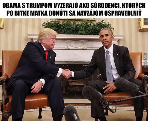 Obama a Trump