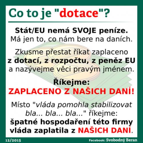 Dotace