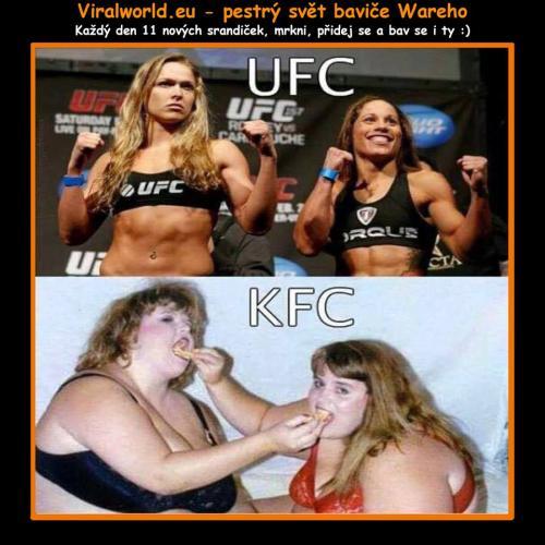 UFC vs KFC