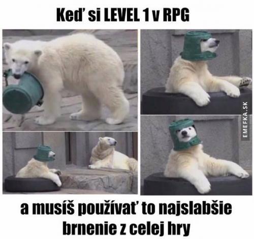Level 1 v RPG