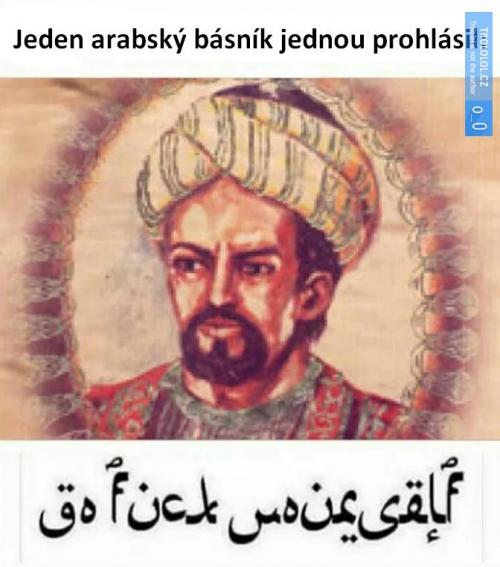 Moudrý arab