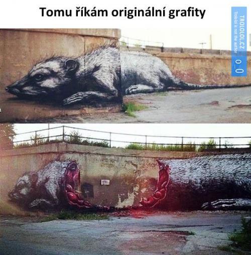 Originální grafity