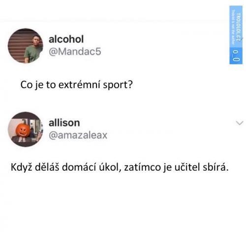 Adrenalinový sport