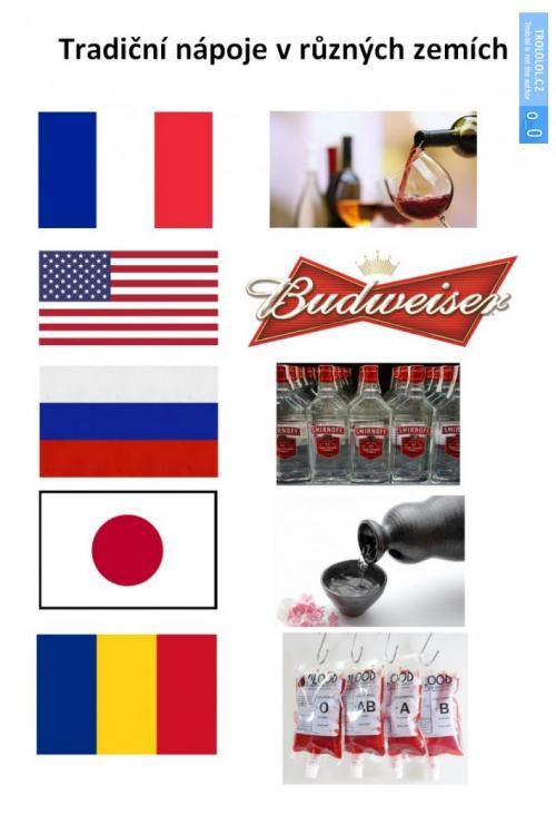 Tradiční nápoje