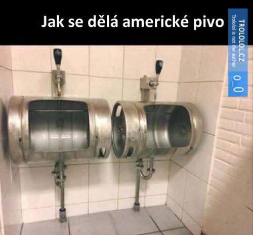 Americké pivo